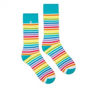 4lck rainbow socks opt