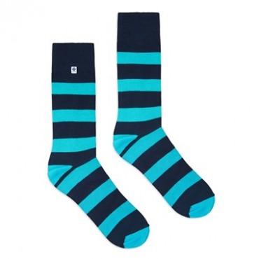 Blue stripes Socks 4lck