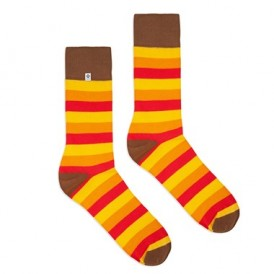 Warm stripes socks