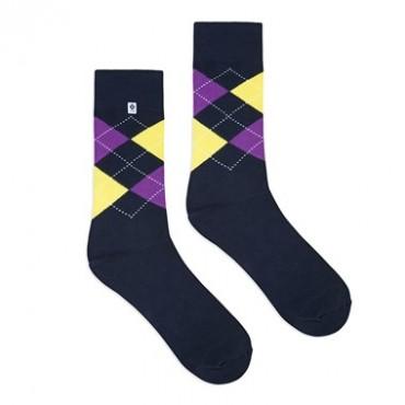 Diamonds blue Socks 4lck