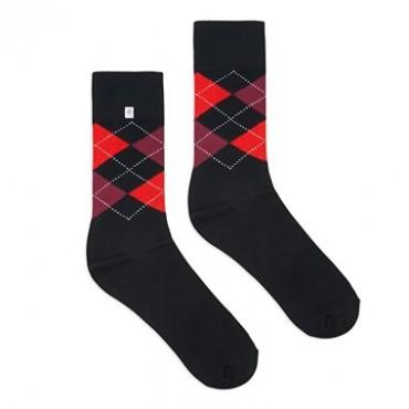 Diamonds black Socks 4lck