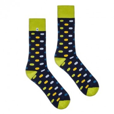 Long dots Socks 4lck