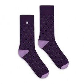 Violet Rings Socks 4lck